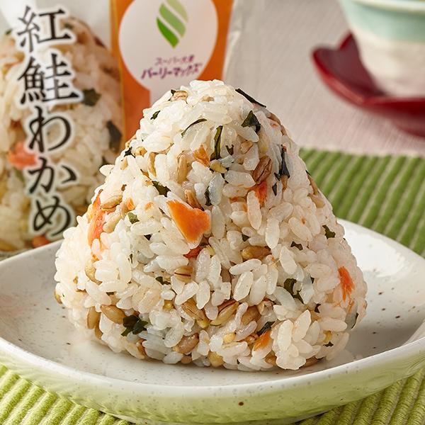 Image of スーパー大麦 紅鮭わかめ0