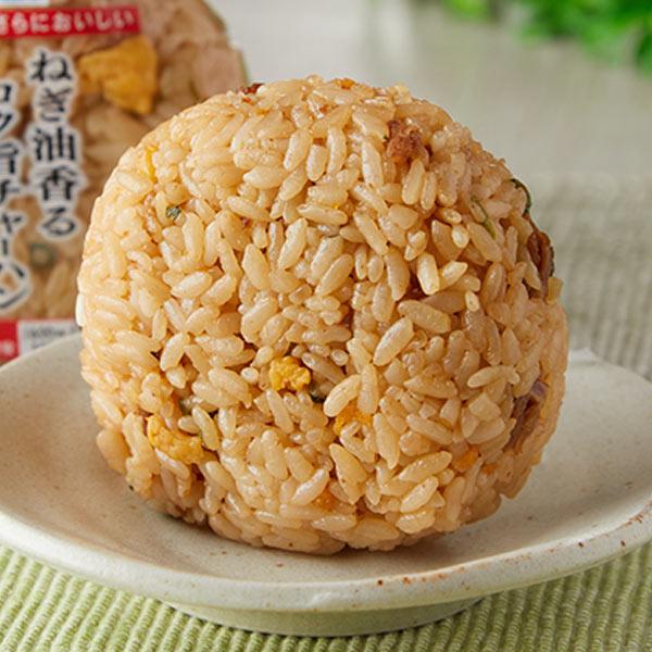 Image of 玄米おむすび 昆布とツナマヨネーズ