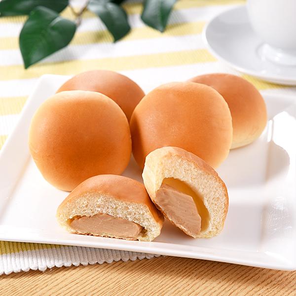 Image of なめらかピーナッツクリームパン5個入0