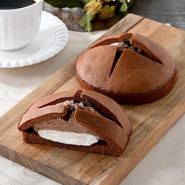 香ばしクッキーサンド(キャラメル&バニラ)