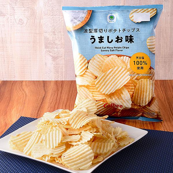 ポテトチップス 発酵バター味