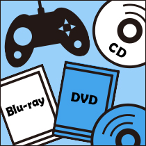 ゲーム・Blu-ray・DVD・CD